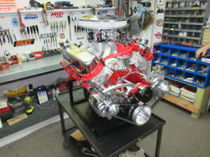 Sbf Ford Complete 347ci Crate Engine Efi 425hp Forged Piston Edelbrock Heads