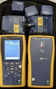 Fluke Dtx 1800 Cable Analyzer W Smart Remote Dtx mfm2