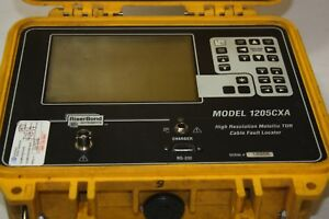 Riser Bond 1205cxa High Resolution Metallic Tdr Time Domain Reflectometer