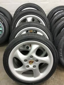 Porsche 996 Oem 18 Wheels And Tires