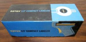 1960 s Vintage 1964 Nos Rotex 1 2 Compact Labeler