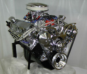 Sbf Ford Turn Key 393w Engine 420hp Crate Motor Fitech Efi Complete Engine