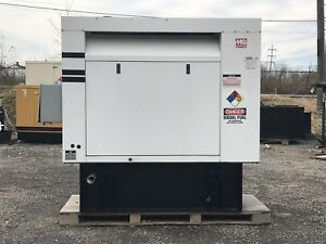 20 Kw Diesel Generator Isuzu 4le1 Single Phase Only 270 Hrs 120 240 Mq Power