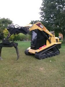 2003 Rc 100 Asv Track Loader 100 Hp Cat Engine W implemax Grapple