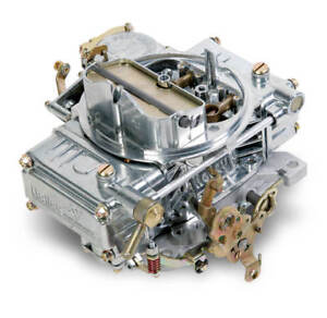 Holley 0 1850sa 600cfm Carburetor W manual Choke Vacuum Secondaries