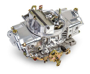 Holley 0 4781sa 850 Cfm Double Pumper Carburetor Manual Choke Mech Secondaries