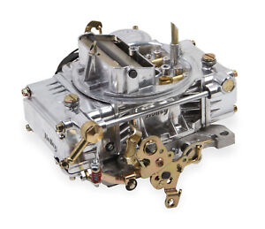 Holley 0 80457sa 600 Cfm Carburetor Electric Choke Vacuum Secondaries