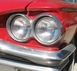1964 1965 Ford Thunderbird Left Front Head Light Bezel