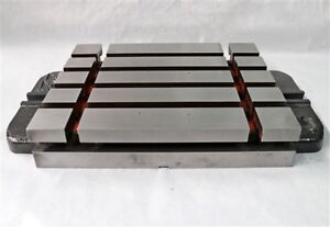 Quality 12 X 10 Cast Iron T slotted Bolster Plate