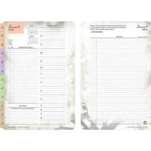Franklincovey 3544 Blooms Dated Daily Planner Refill January december 5