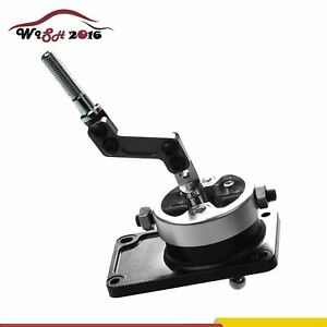 Black Racing Short Throw Quick Shifter For 83 04 Ford Mustang Thunderbird T5 T45