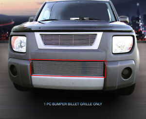 Billet Grille Front Bumper Grill Replacement For Honda Element 2003 2006