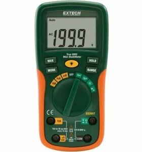 Extech Ex205t True Rms Auto Ranging Digital Multimeter brand New