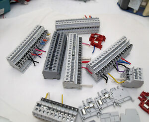 100 Entrelec Misc Terminal Blocks And Some Stops m 8 D6 8