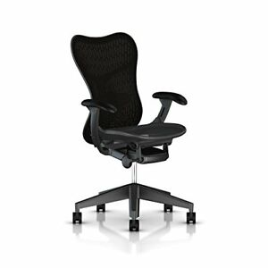 Herman Miller Mirra 2 Task Chair Tilt Limiter Flexfront Adj Seat Depth Adj