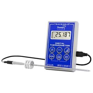 Thomas 6422 Traceable Handle Probe Low temperature Cryo Platinum Stainless For