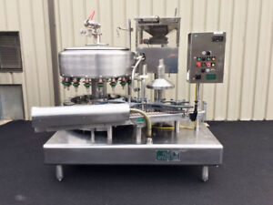 Filler Specialties 18 valve Bottle Filler With 5 head Snap Cap Capper