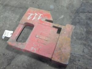 International Harvester Big Handle Suitcase Weight 100 Lb tag 111