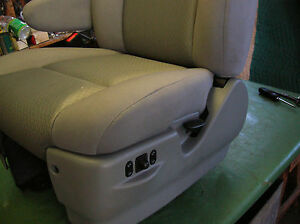 Ford Oem Bus Drivers Seat Bottom Cover Only Captain Chair new Take offs