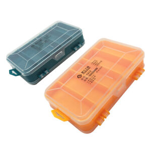 Translucent Utility Component Storage Box Anti tarnish Electronic Components And