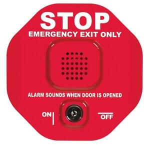 Stop Emergency Exit Only Safety Stationadjustable Timer Multifunction Door Alarm