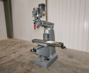 12581 Bridgeport Series I Vertical Mill 9 X 48 Table 2 Hp New In Stock