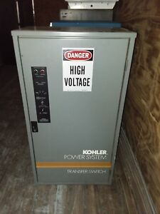 Kohler Automatic Transfer Switch Gls 168341 0400 400a 208v 4 wire 3 pole