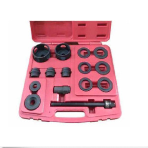 Pro 15 Pcs Bearing Tool Set For Front Wheel Drive Auto Vehicles Duty Screw Hub
