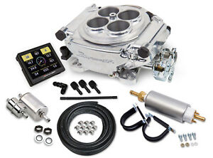 Holley 550 510k Sniper 4 Barrel Fuel Injection Conv Self Tuning Master Kit