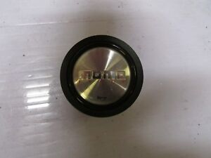 Jdm Genuine Polished Steering Wheel Horn Push Button Momo Italy Momo