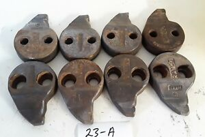 Lot Of 8 Rayco Stump Grinder Teeth 3144t 3144c