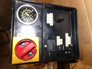 Hoerbiger 08hoerbiger Hydraulic Valve Meter Operator Switch Panel Assembly