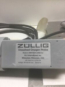 Zullig Dissolved Oxygen Probe 5041d0 With Cord