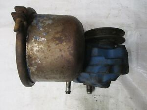 Ford 600 700 800 900 601 701 801 901 Early 2000 4000 Power Tractor Steering Pump