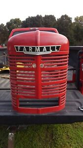 International Ih Farmall Tractor Nose Front M Super M Md Smta Grille H