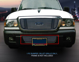 Polished Billet Grille Bottom Bumper Grill For Ford Ranger 2004 2005