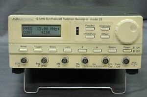 Wavetek Model 23 12mhz Synthesized Function Generator W Gpib Tested Good Xlnt