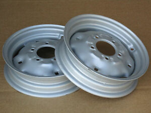 2 New Front Wheel Rims 3x12 Fit 154 Cub Ih Lo Boy 184 185 3 0x12 3 00x12 3 0 12