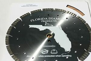 Diamond Blade 14 12mm Segment For Cured Concrete extreme Long Life Fits Stihl