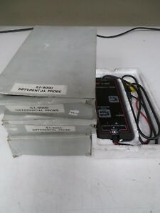 Beckman Industrial Si 9000 Differential Probe 25mhz High Voltage Ne35