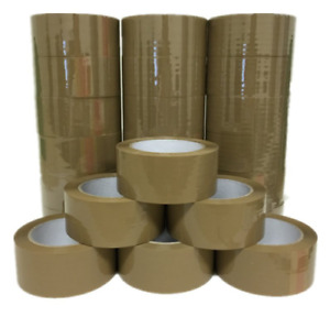 At Tape Brown Packaging Shipping Tape 2 inches X 110 Yds Pack Of 36