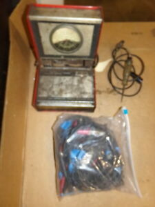 Snap On Mt425 Vacuum Fuel Pump Pressure Gauge In Case Free Shipping