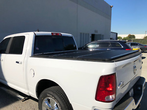 5 8 68 Aluminum Solid Trifold Hard Tonneau Cover 07 18 Chevy Gm 1500 2500 3500