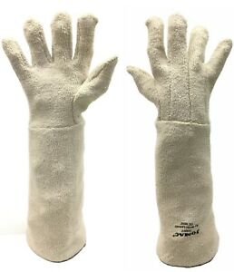 Heat Resistant Terry Cloth Gloves Wells Lamont Jomac ce0072 12 Pairs