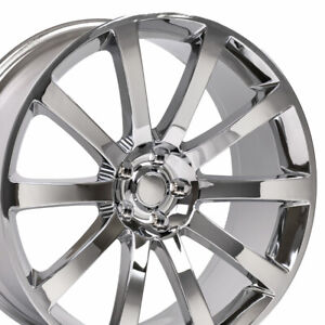 20 Rims Fit Dodge Chrysler 300 Srt Magnum Chrome Wheels 2253