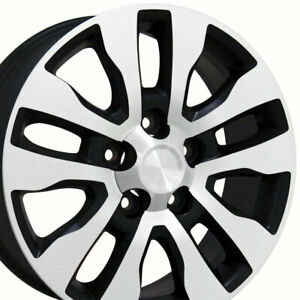 20 Rims Fit Toyota Lexus Lx Tundra Sequoia Satin Black Mach D Wheels 69533