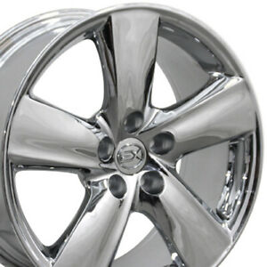 18 Rims Fit Lexus Toyota Ls460 Style Chrome Wheels 74196 Set