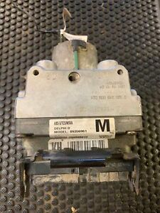 98 99 00 Corvette Abs Pump Assembly Code M Used