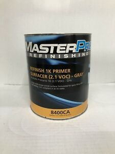 Acrylic Lacquer Primer High Build Gray 1 Gallon Fast Dry Easy Sanding