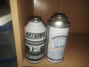 Auto A c Ig lo 2 R12 Refrigerant 12oz Full Weighed Cans Ships Fast